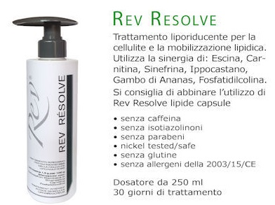 Rev Resolve Trattamento Anti Cellulite 250ml