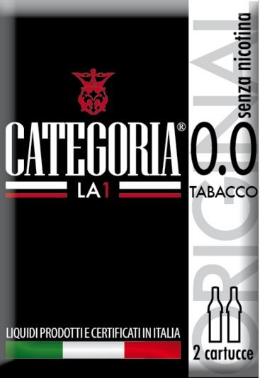 Image of Categoria LA1 Original Tabacco Senza Nicotina 0.0 2 Cartucce 970391431