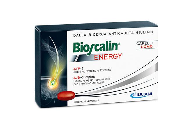 Image of Bioscalin Energy Capelli Uomo Integratore Alimentare 30 Compresse 970406880
