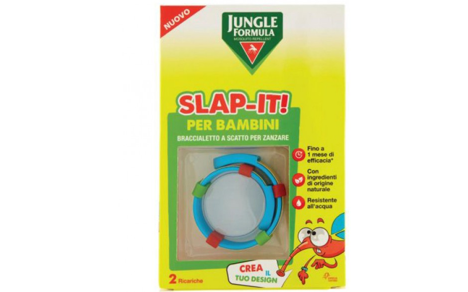 Image of Jungle Formula Slap-it Braccialetto Antizanzare Bambini 1 Braccialetto