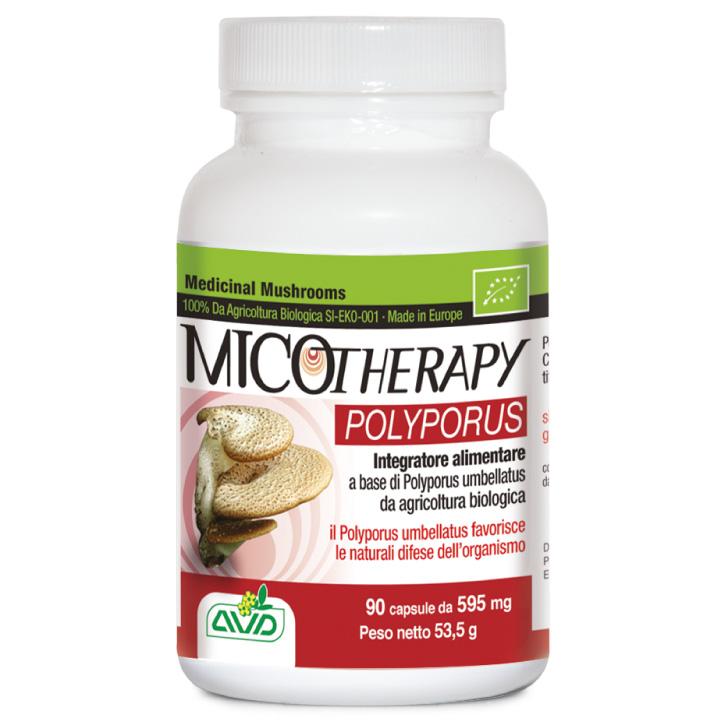 Micotherapy Polyporus Integratori alimentare 90 Capsule
