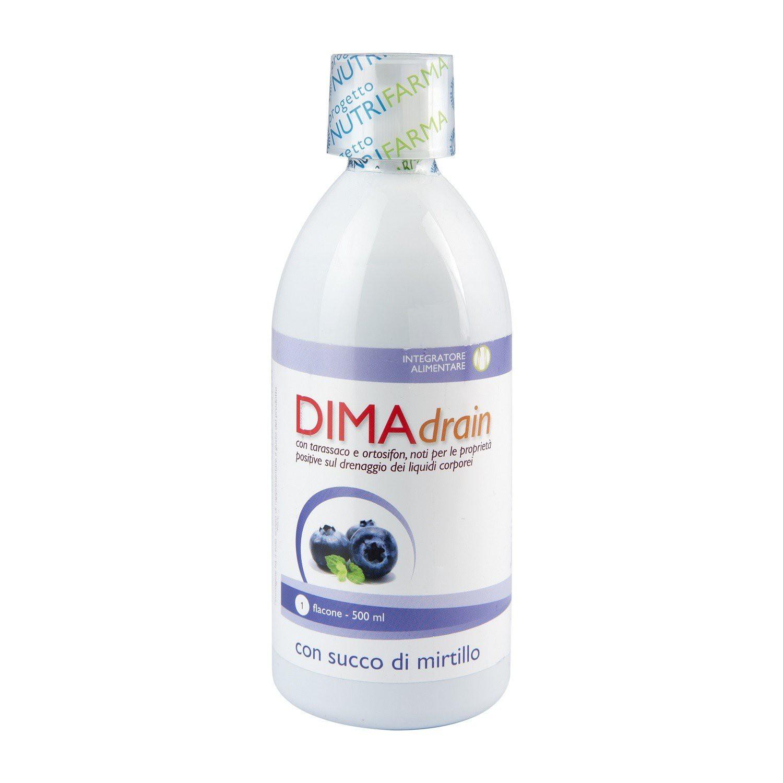 Image of Aqua Viva Dimadrain Integratore Alimentare Gusto Mirtillo 500ml 970434066
