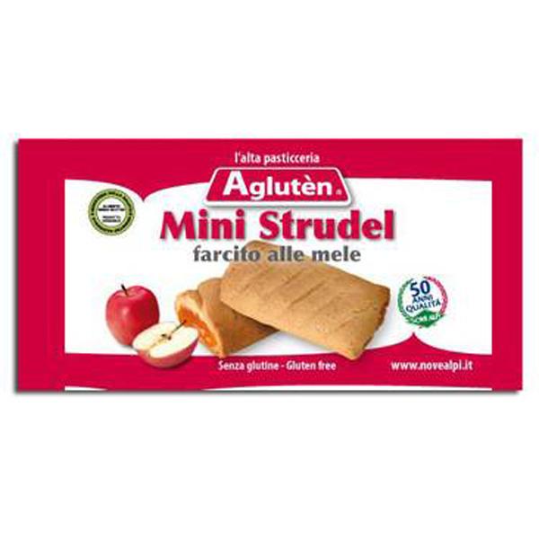 Image of Agluten Mini Strudel Farcito Alle Mele Senza Glutine Confezione 160g 970448914