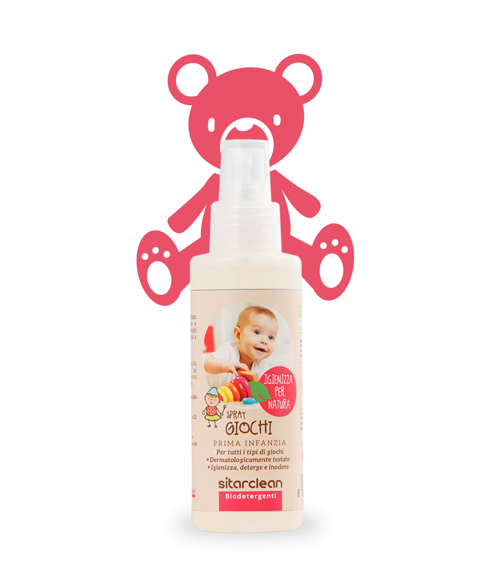 Image of Sitarclean Spray Giochi Igienizzante Per Bimbi 100ml 970451718