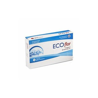 Image of Aqua Viva Ecoflor Boulardii Integratore Alimentare 20 Capsule 970488793