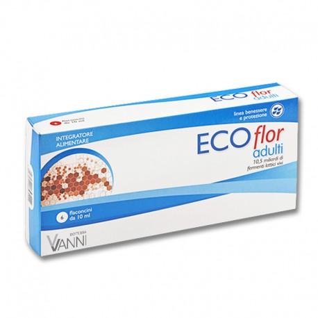 Image of Aqua Viva ECOflor Adulti Integratore Alimentare 6 Flaconcini 970488805