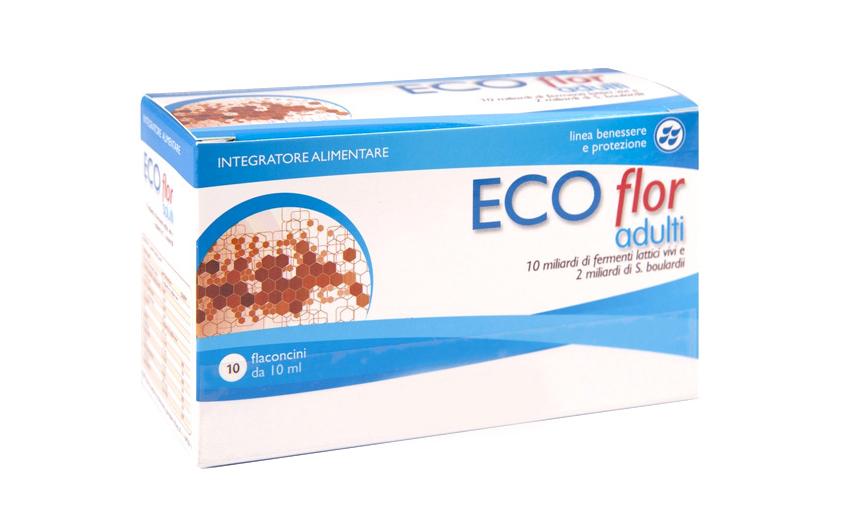 Image of Aqua Viva ECOflor Adulti Integratore Alimentare 10 Flaconcini Da 10ml 970488843