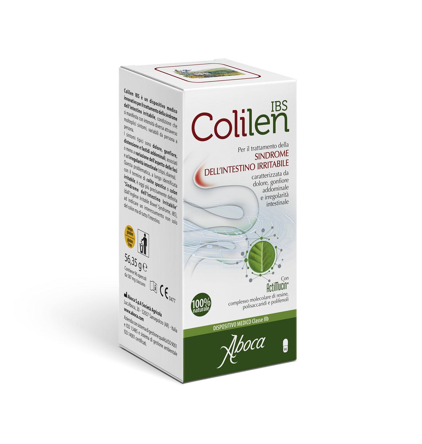 Image of Aboca Colilen Ibs Integratore Alimentare 96 Compresse 970489593