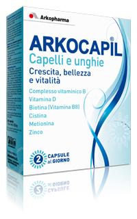 Arkocapil Capelli E Unghie Integratore Alimentare 3x30 Capsule