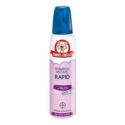Image of Bayer Sano E Bello Shampoo Mousse Rapid al Profumo di Talco 300ml 970518092