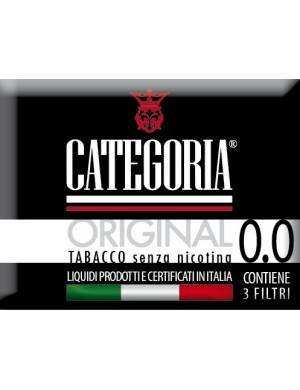 Image of Categoria Original Tabacco Senza Nicotina 0,0 3 Filtri 970521047