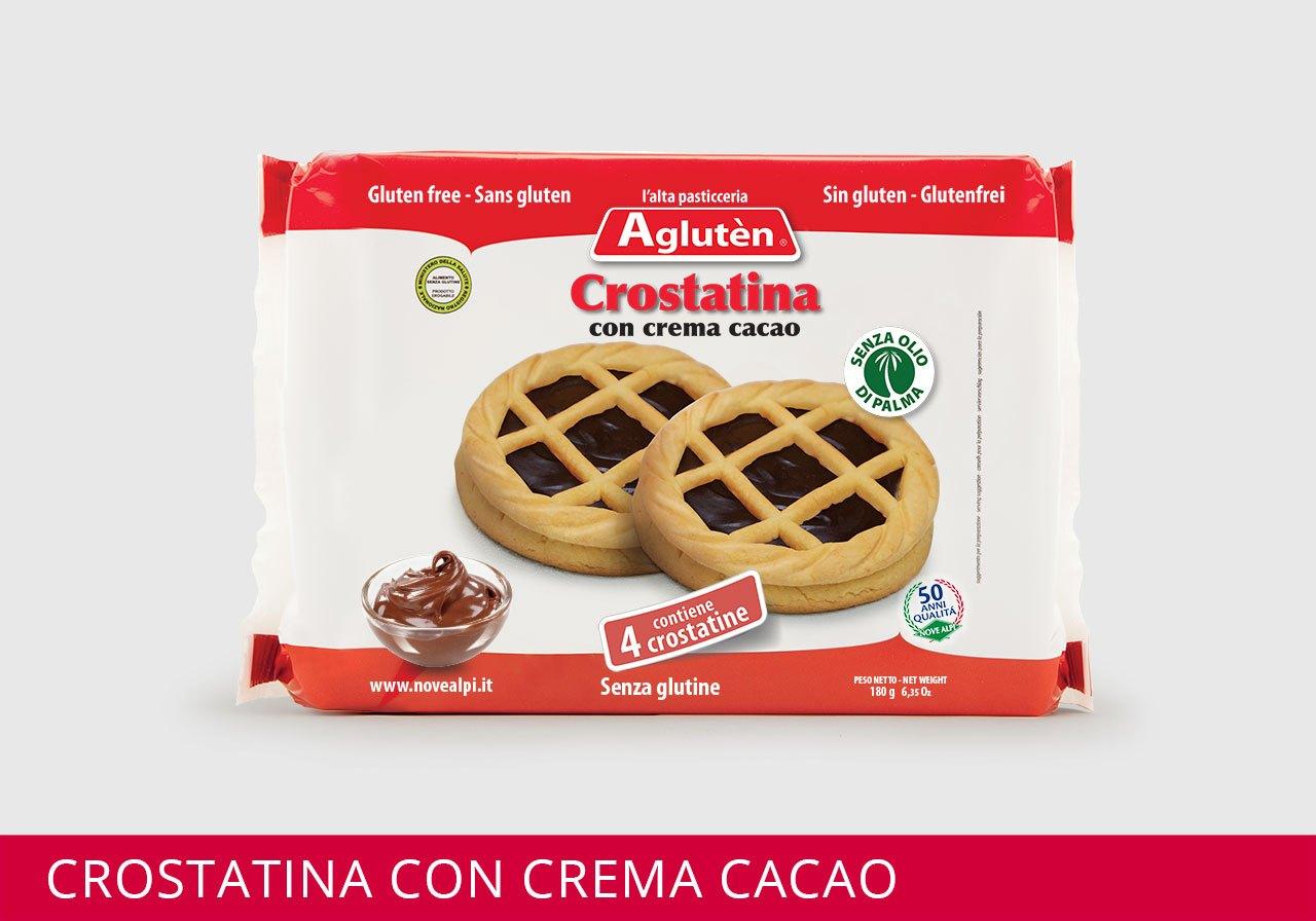 Image of Agluten Crostatina Con Crema Di Cacao Senza Glutine 180g 970521884