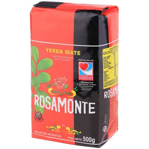Yerba Mate Rosamonte Tisana Industria Argentina Confezione 500g