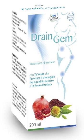 Image of Algem DrainGem Integratore Alimentare 200ml 970536191