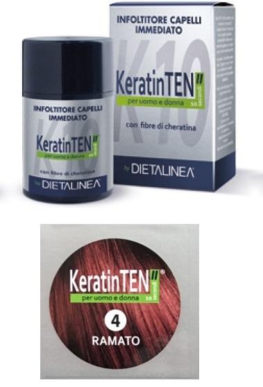 """Image of KeratinTEN"""" Infoltitore Capelli Immediato Colore Ramato 12g 970539793"""