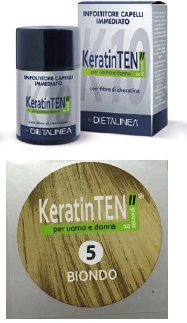 Image of KeratinTEN Infoltitore Capelli Immediato Colore Biondo 12g 970539805
