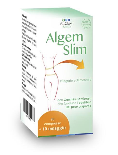Image of Algem Natura Algem Slim Integratore Alimentare 90 Compresse 970578252