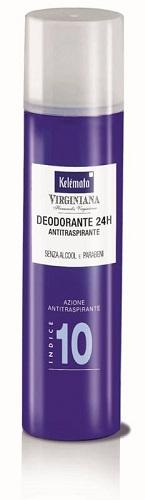 Kelémata Virginiana Deodorante Spray 10 100ml