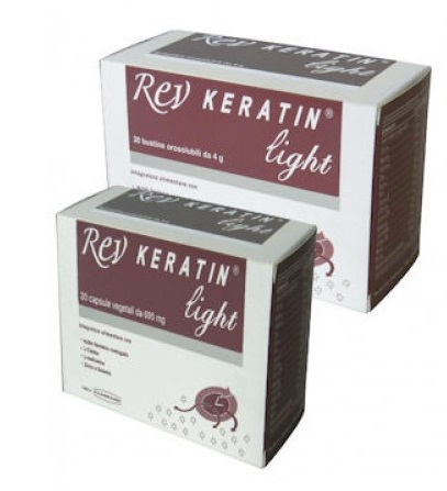 Rev Keratin Light Integratore Alimentare 30 Capsule