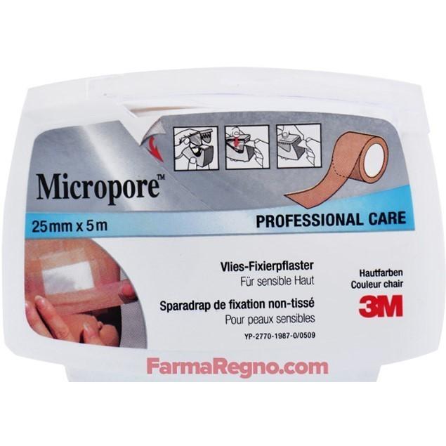 Image of 3M Micropore Skin Tone Cerotto su Dispenser Ricaricabile 25mm x 5m 970988034