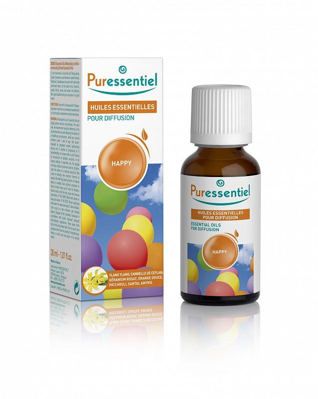 Puressentiel Essential Oils For Diffusion Happy 30ml