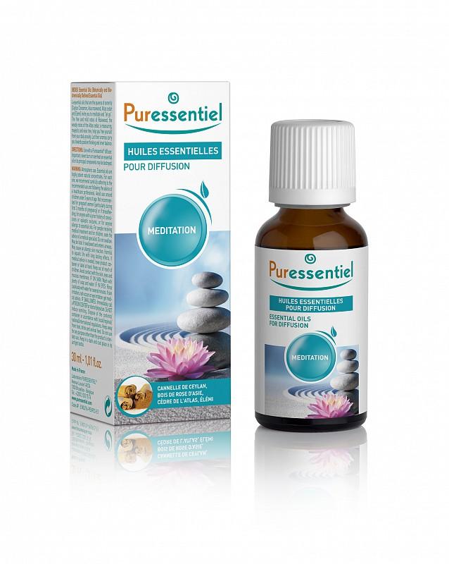 Puressentiel Essential Oils For Diffusion Meditation 30ml