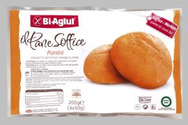 Image of BiAglut Il Pane Soffice Panini Senza Glutine 4x50g 971063793