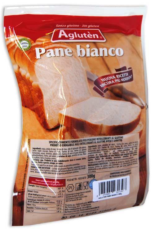 Image of Agluten Pane Bianco A Fette Senza Glutine 300g 971068895