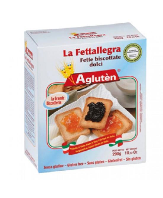 Image of Agluten La Fettallegra Fette Biscottate Senza Glutine 200g 971101593