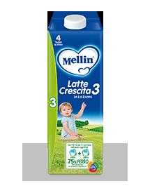 Mellin Latte Crescita 3 Liquido 1000ml