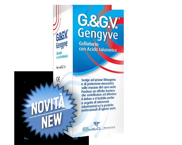 Image of G.&GV. Gengyve Colluttorio Con Acido Ialuronico 120ml 971114602