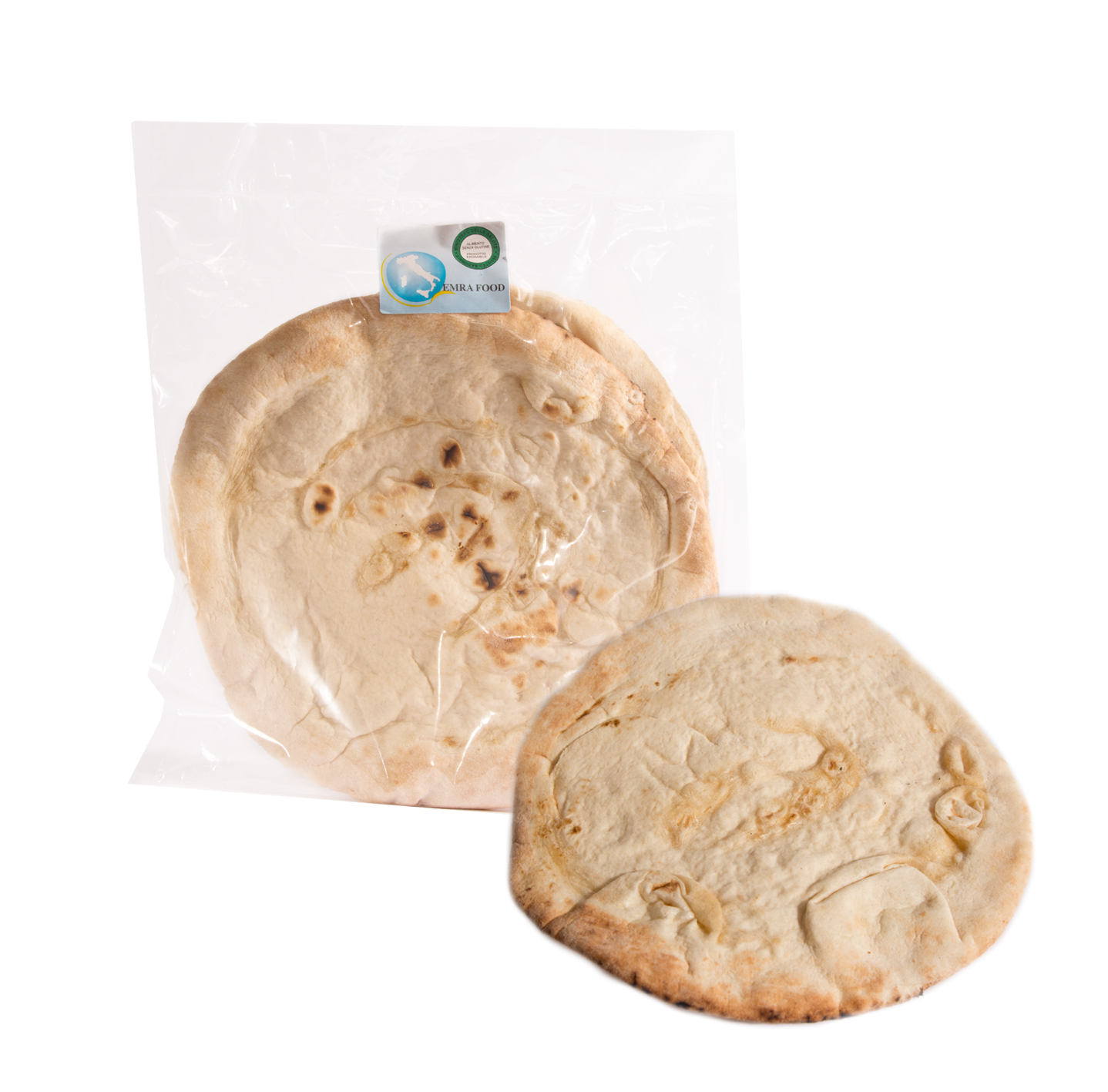 Image of Emra Food Pane Saltimbocca Tondo Senza Glutine Senza Lattosio 1x180g 971115959