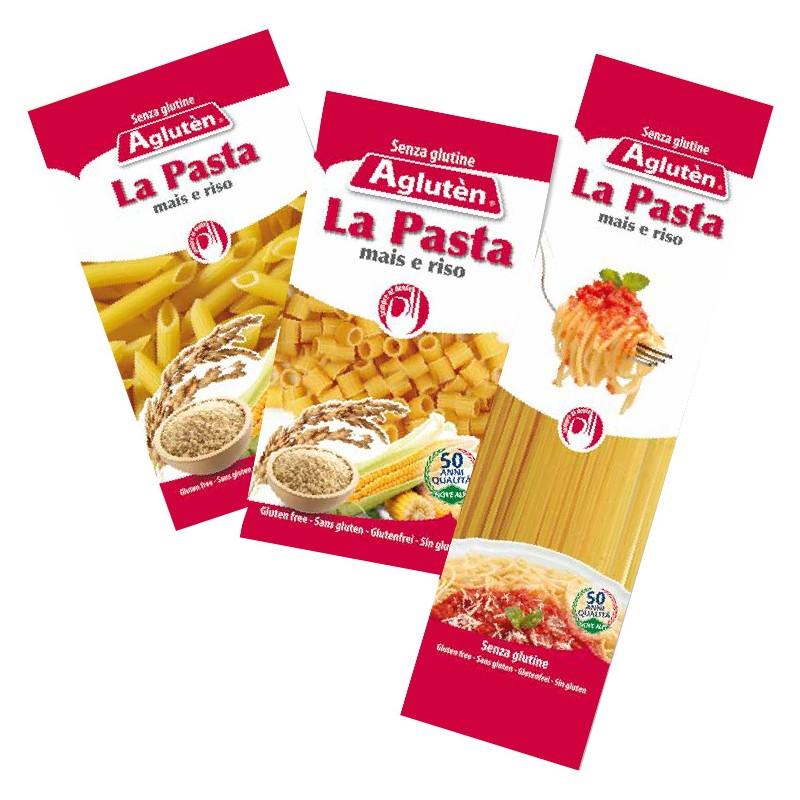 Image of Agluten La Pasta Penne Rigate Senza Glutine 400g 971122407