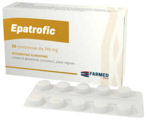 Image of Farmed Epatrofic Integratore Alimentare 20 Compresse 790mg 971129248