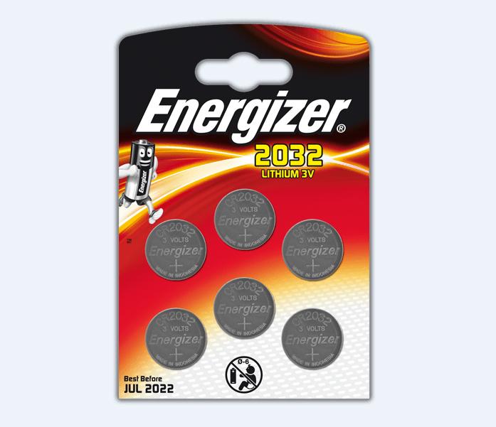 Image of Energizer Batteria Per Dispositivi Elettronici 2032 Lithium 3V 2 Pezzi 971172150