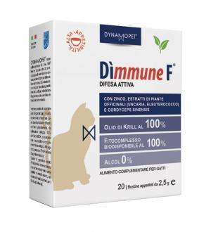 Image of Dynamopet Dìmmune F Difesa Attiva Integratore Alimentare 20 Bustine x2,5g 971231713