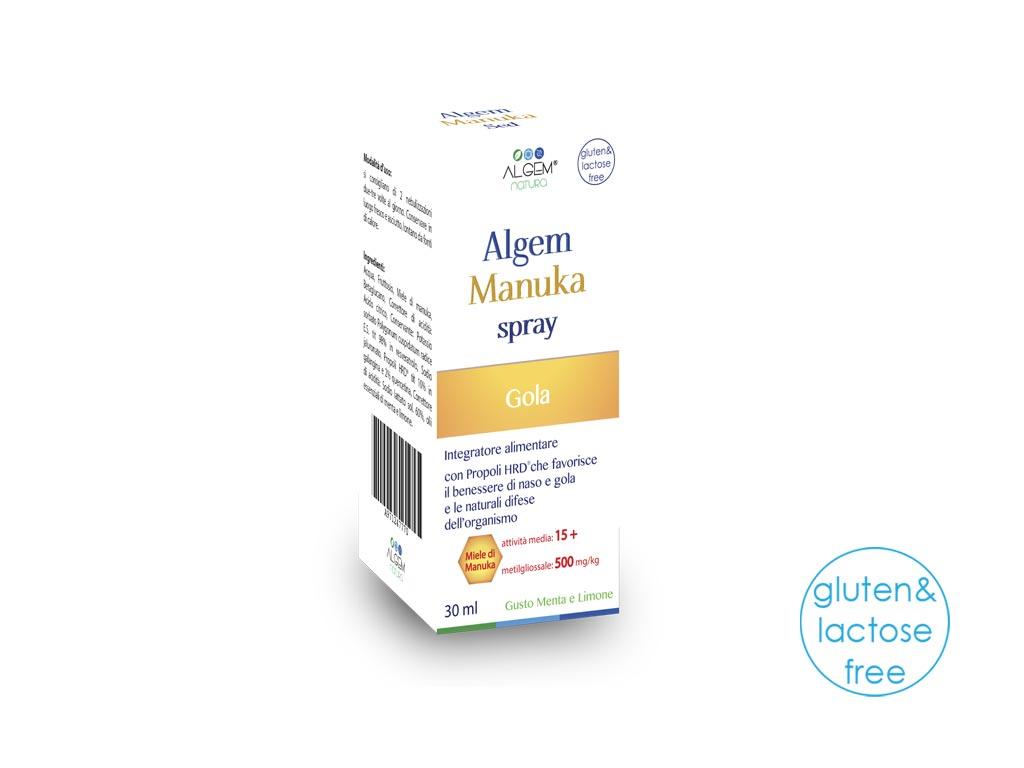Image of Algem Manuka Spray Integratore Alimentare 30ml 971247770