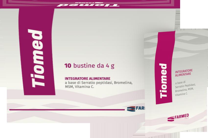 Image of Farmed Tiomed Integratore Alimentare 10 Buste 971258013