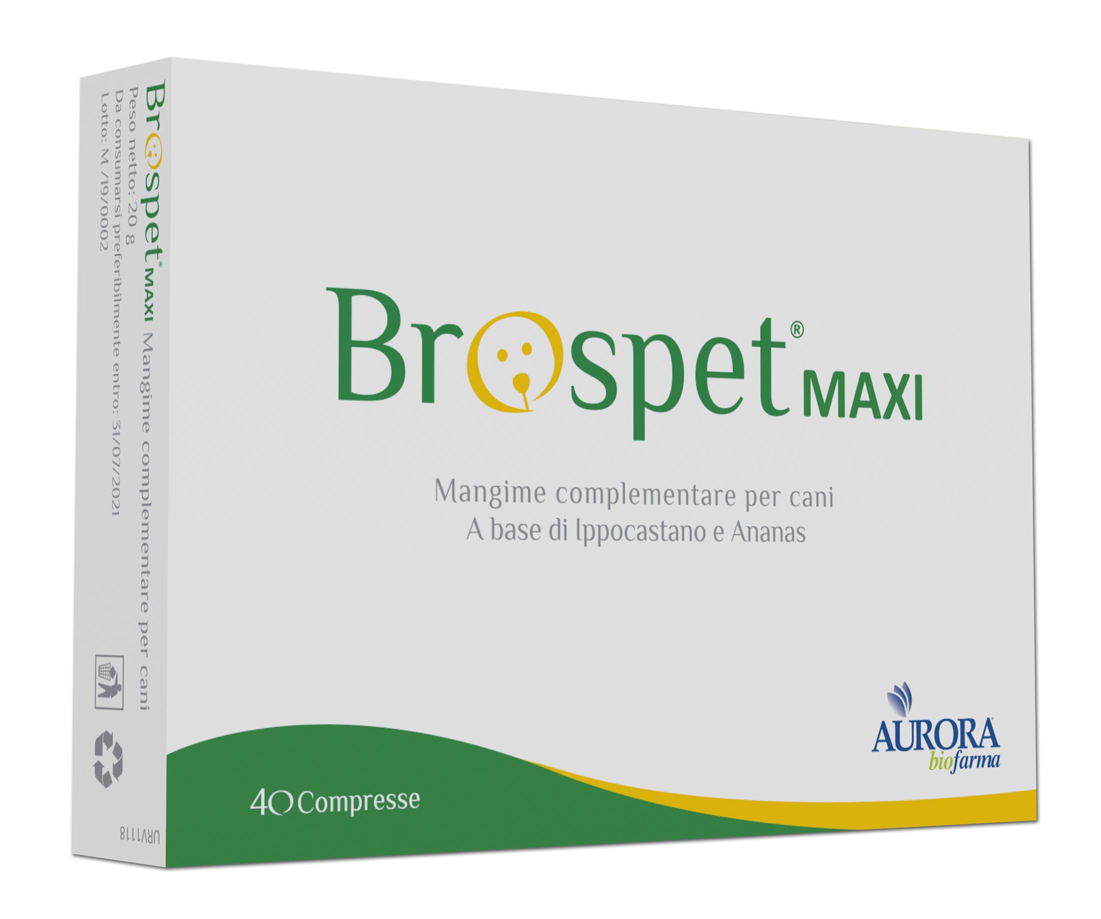 Image of Brospet Mangime Complementare Per Cani Formato Maxi 40 Comprese 971270210