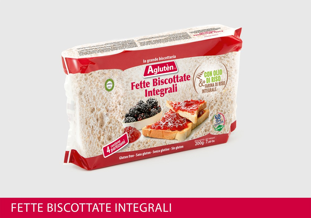 Image of Agluten Fette Biscottate Integrali Senza Glutine 200g 971275767