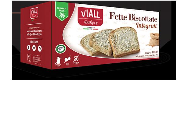 Viall Fette Biscottate Integrali Senza Glutine 200g