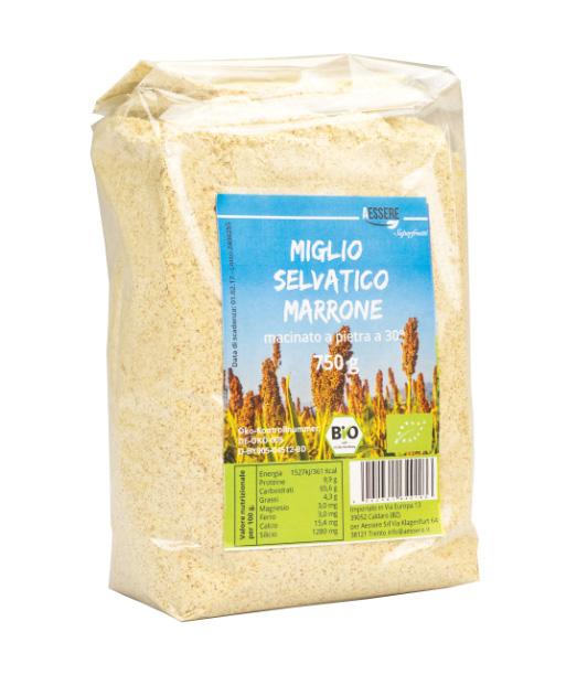 Image of Aessere Miglio Selvatico Marrone Macinato A Pietra A 30° 750g 971334230