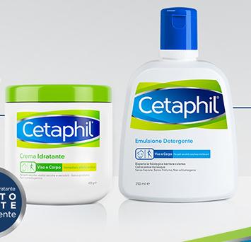 Image of Cetaphil Confezione Crema Idratante 450ml + Emulsione Detergente 250ml 971394616