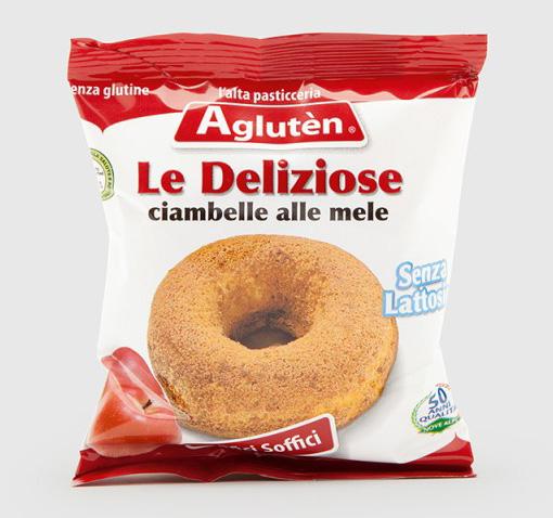 Image of Aglutèn Le Deliziose Ciambelle Alle Mele Senza Glutine 55g 971478399
