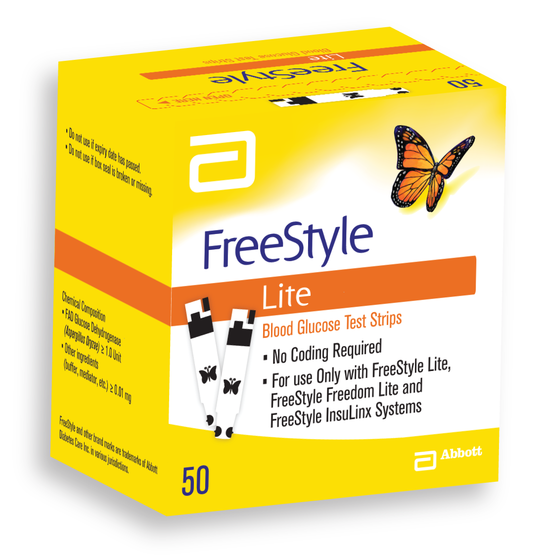 Image of Abbott Freestyle Lite 25 Strisce Test Glucosio 922315318