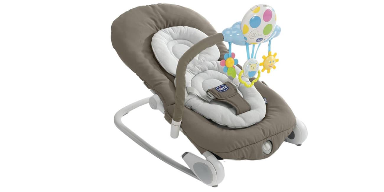 Image of Chicco Balloon Sdraietta Relax Colore Dark Grey 971530795