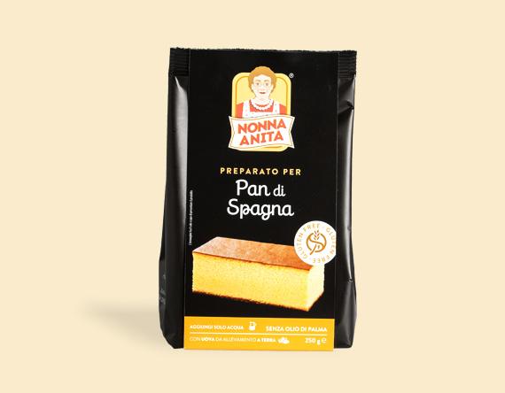 Image of Nonna Anita Preparato Pan Spagna Senza Glutine 250g 971755982