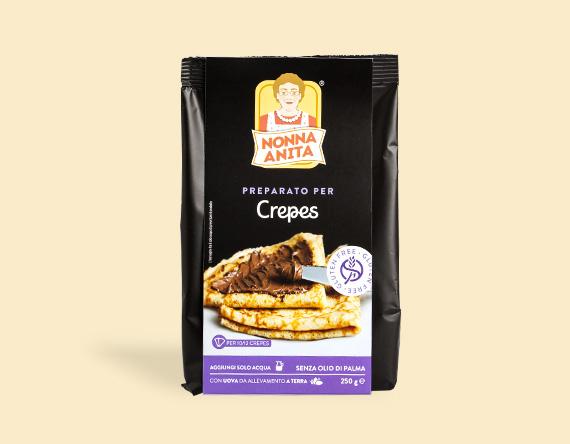 Image of Nonna Anita Preparato Per Crepes Senza Glutine 250g 971755994