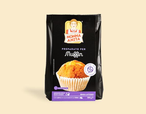 Image of Nonna Anita Preparato Per Muffin Senza Lattosio 350g 971756034