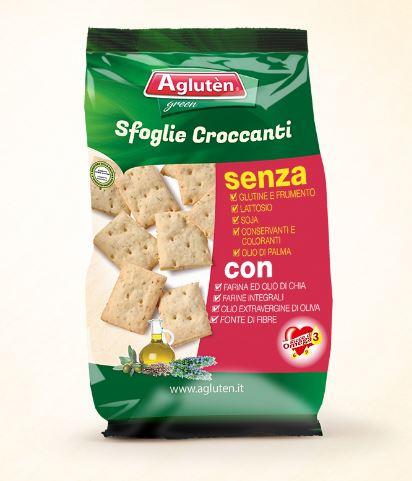 Image of Agluten Sfoglie Croccanti Senza Glutine 100g 971953512